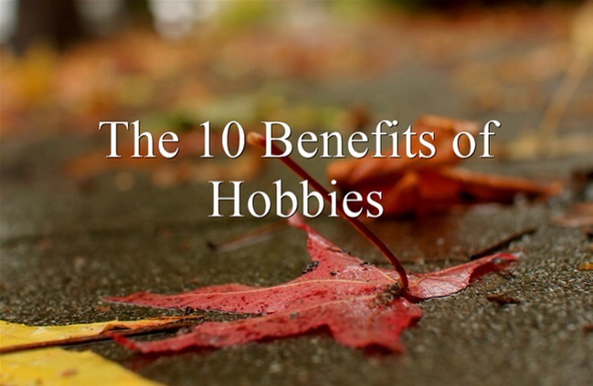 benefit of hobbies The results indicate that organizations may benefit from encouraging side projects and creative hobbies help stop this receive special fast company offers.