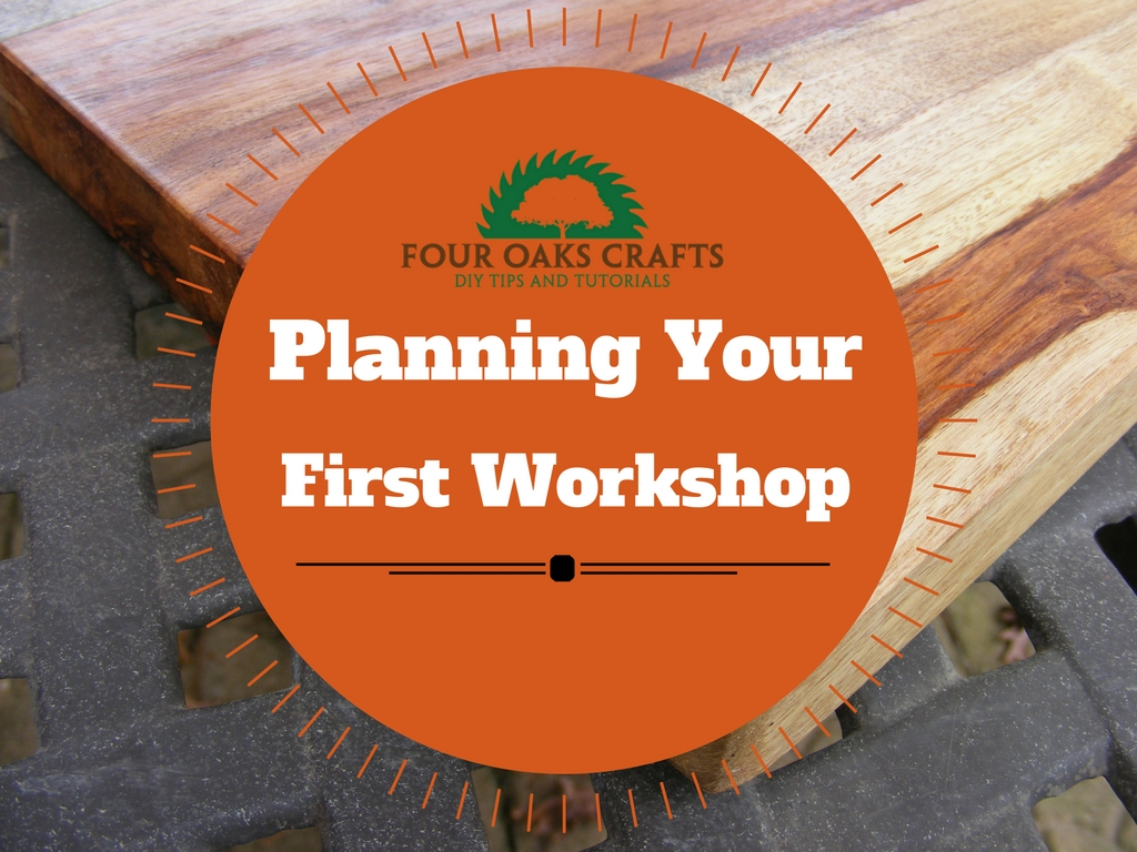 Planning your first workshop