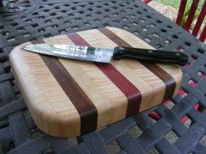 make a cutting board