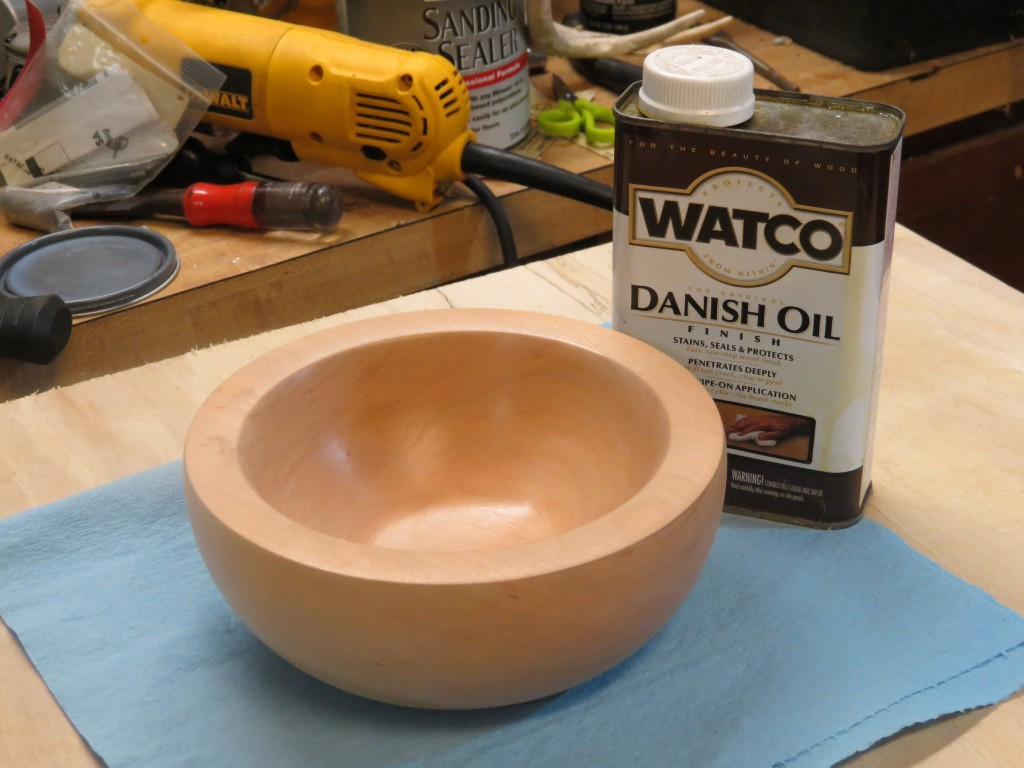 making a cherry bowl