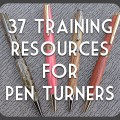 training resources for pen turners