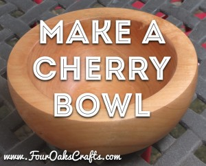 make a cherry bowl