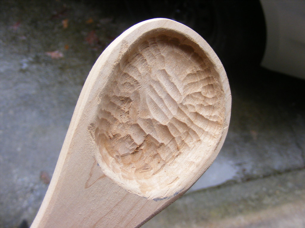 Make a wooden spoon