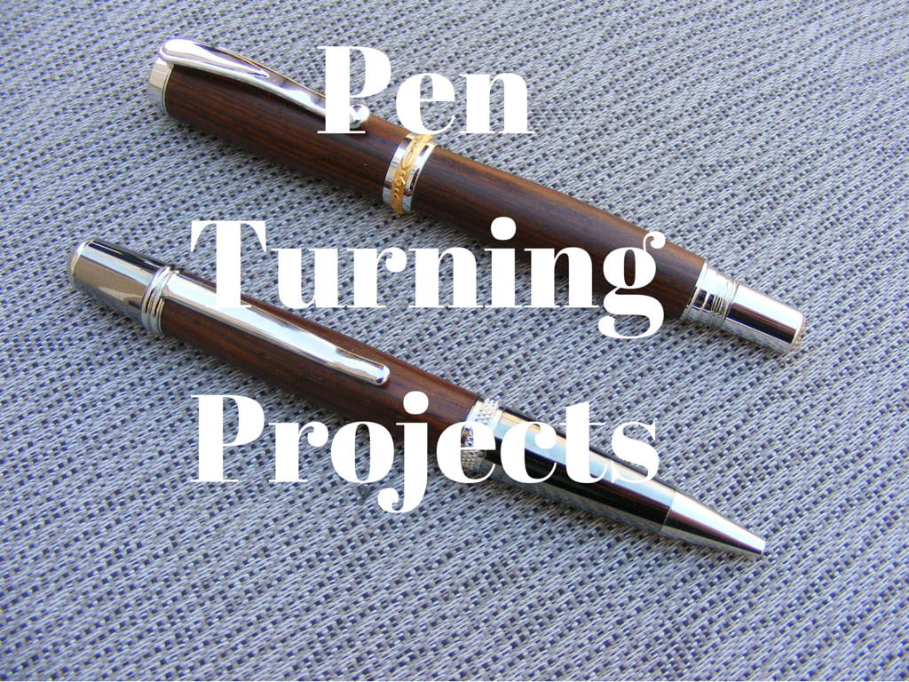 pen turning projects
