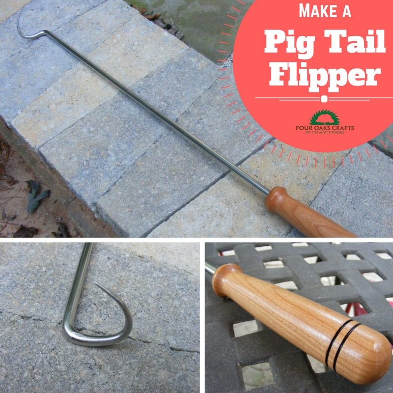 how to make a pig tail flipper