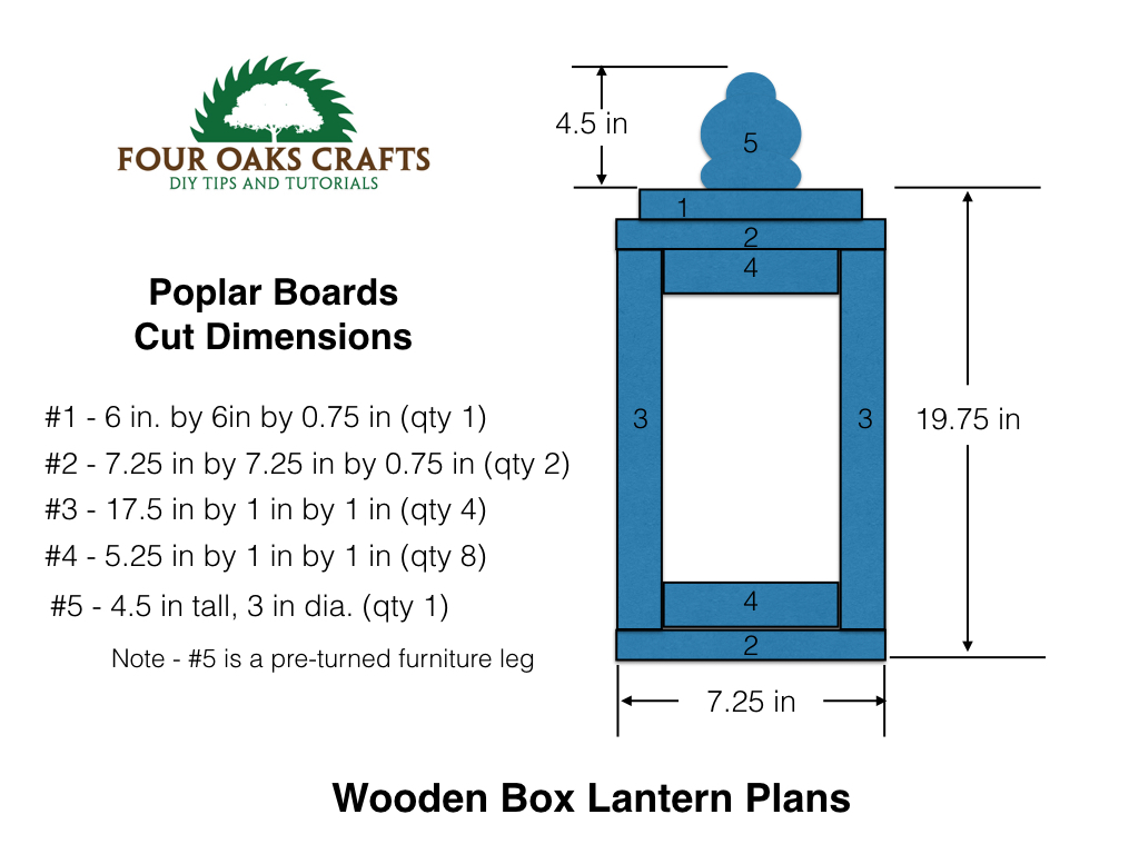 Make a wooden lantern How to make designs in wood