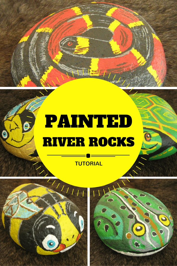 10 quick and easy handmade gift ideas - River rock painting ideas ...