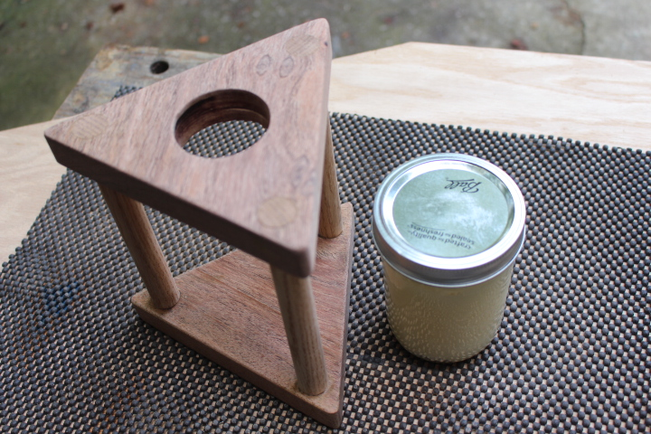 coffee pour over stand diy