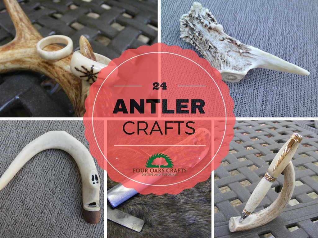 24 Crafts That Use Deer Antler