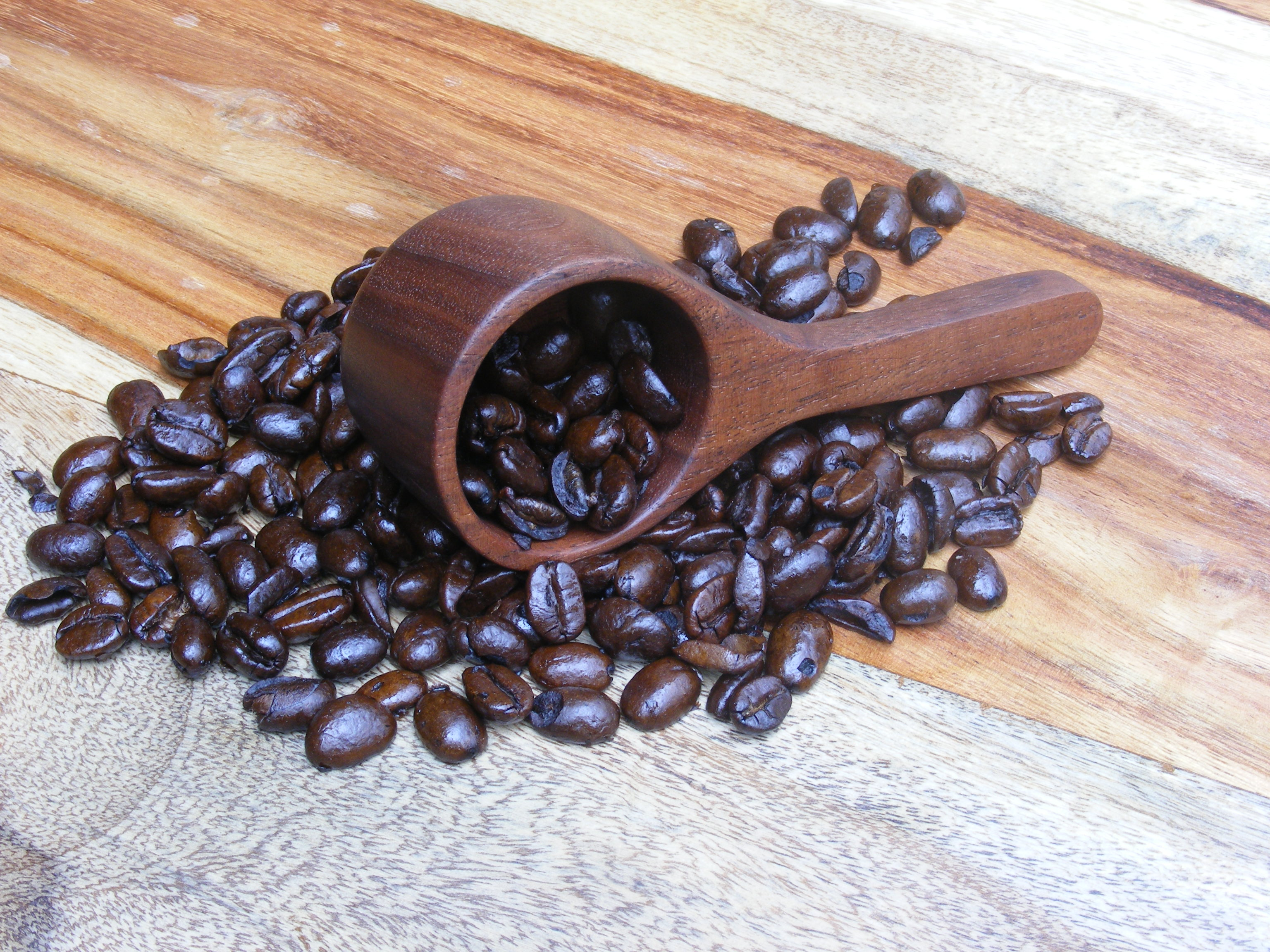 make a wooden coffee scoop