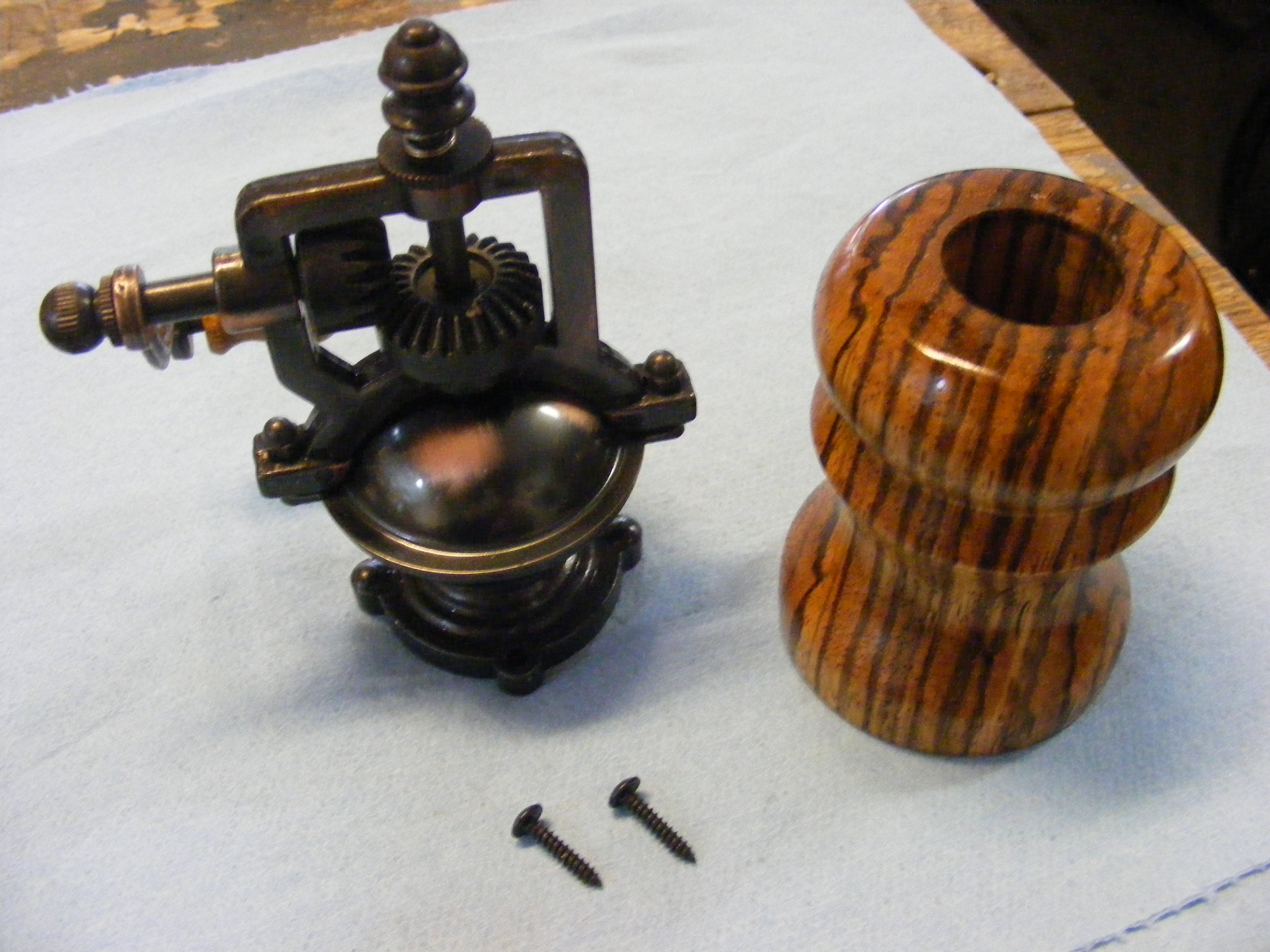 How To Make An Antique Pepper Mill