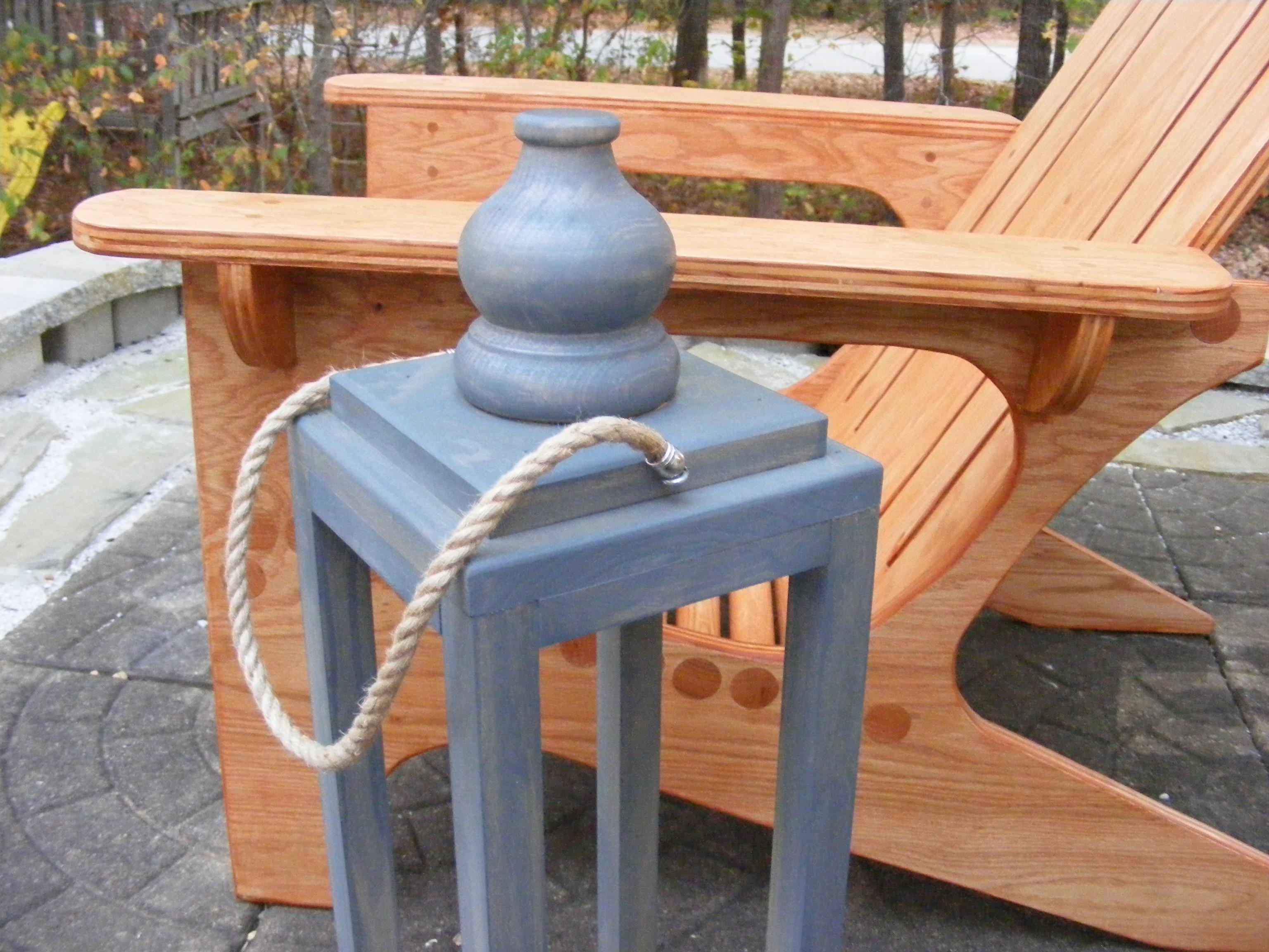Make A Wooden Lantern