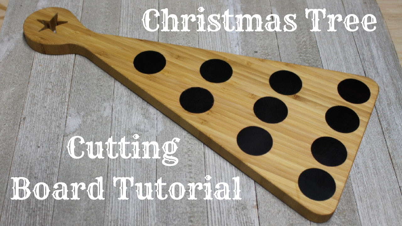 Christmas Tree Cutting Board Project