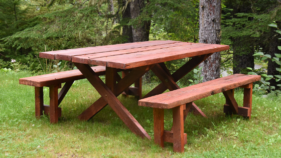 Stupendous Is Pressure Treated Wood Safe For Picnic Tables Spiritservingveterans Wood Chair Design Ideas Spiritservingveteransorg